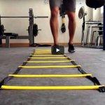 ejercicios de coordinacion con escalera futbol