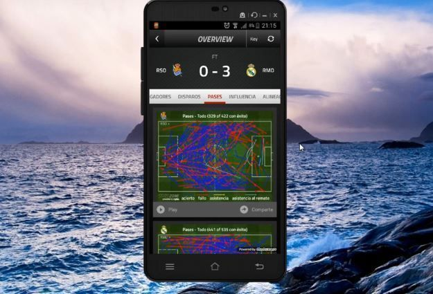 5 aplicaciones de futbol para moviles