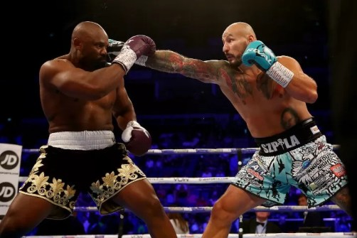 chisora vs szpilka combate de boxeo, noticias de boxeo, pesos pesados, brutal ko, entrenar boxeo