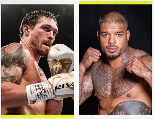 noticias boxeo, pelea pesos pesados, Oleksandr Usyk contra Tyrone Spong, boxeadores, cinturón, retador