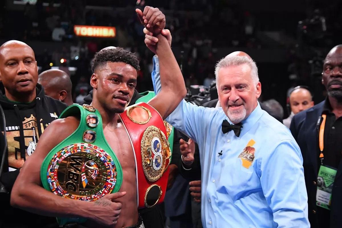 combate spence contra porter, campeon peso welter, noticias de boxeo