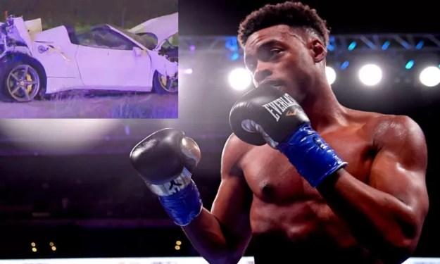 errol spence jr sufre un accidente de coche, noticias de boxeo