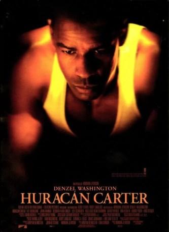 mejores peliculas boxeo, huracan carter, the hurricane, denzel washington