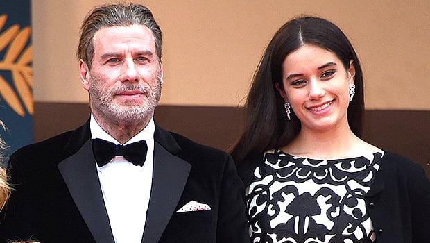 John Travolta Hugs Daughter Ella, 21, On Set Of Her New Movie In Rare Selfie Together — Photo