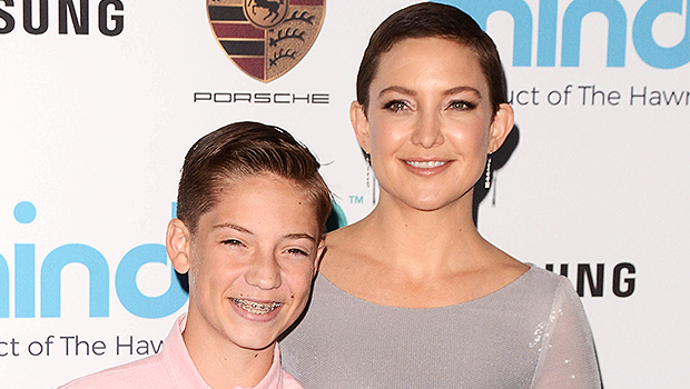 Kate Hudson's Son Ryder, 17, Trolls His Mom Days After She Gets Engaged — Watch