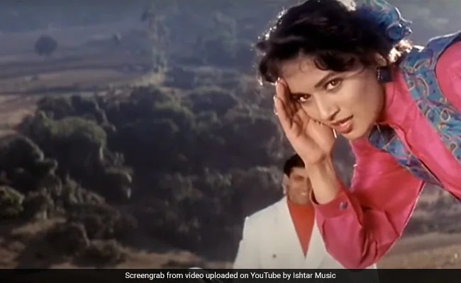 Madhuri Dixit's Infectious Energy In This Saajan Song Tea-splained