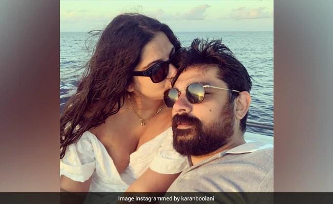 More Pics From Rhea Kapoor And Karan Boolani's Honeymoon In Maldives