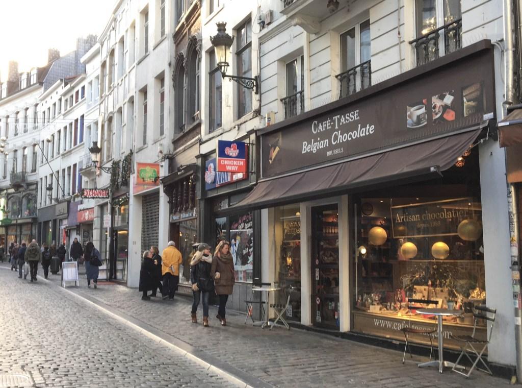 Bruselas - Entre nubes de algodon