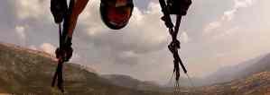 Looping amb parapent