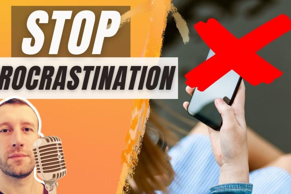 9 conseils pour éviter la procrastination
