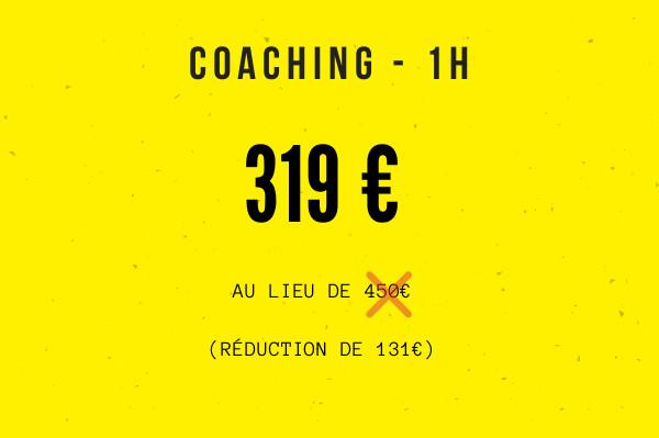 coaching entrepreneur : tarif séance individuelle
