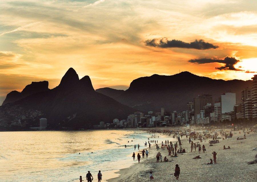 un marché brésilien ouvert