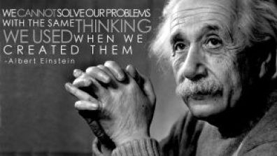 Think different ! Albert Einstein
