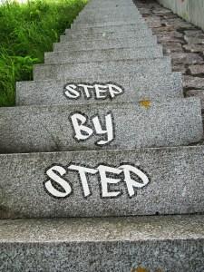 étape par étape procrastination
