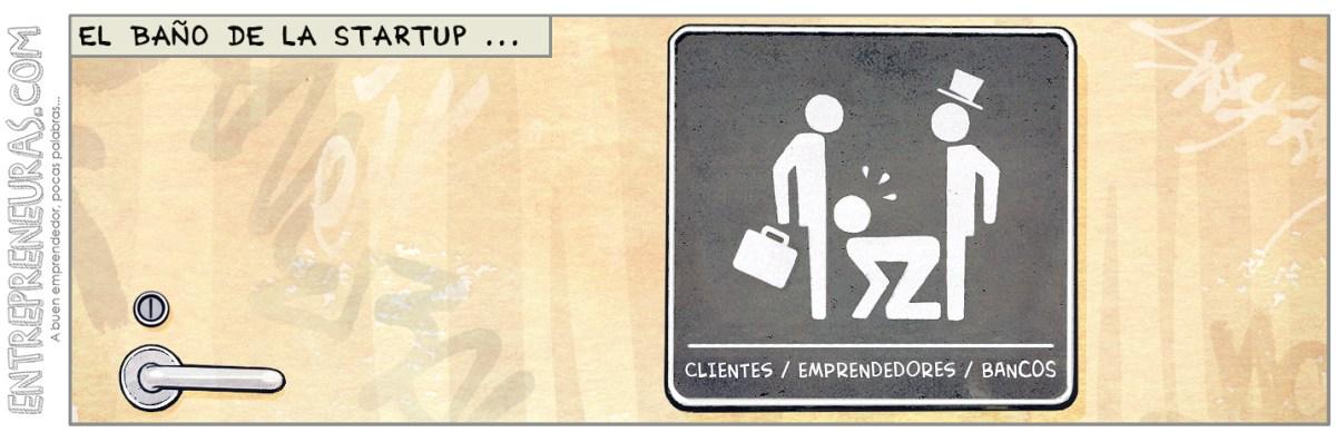 El baño de la startup - Entrepreneuras.com