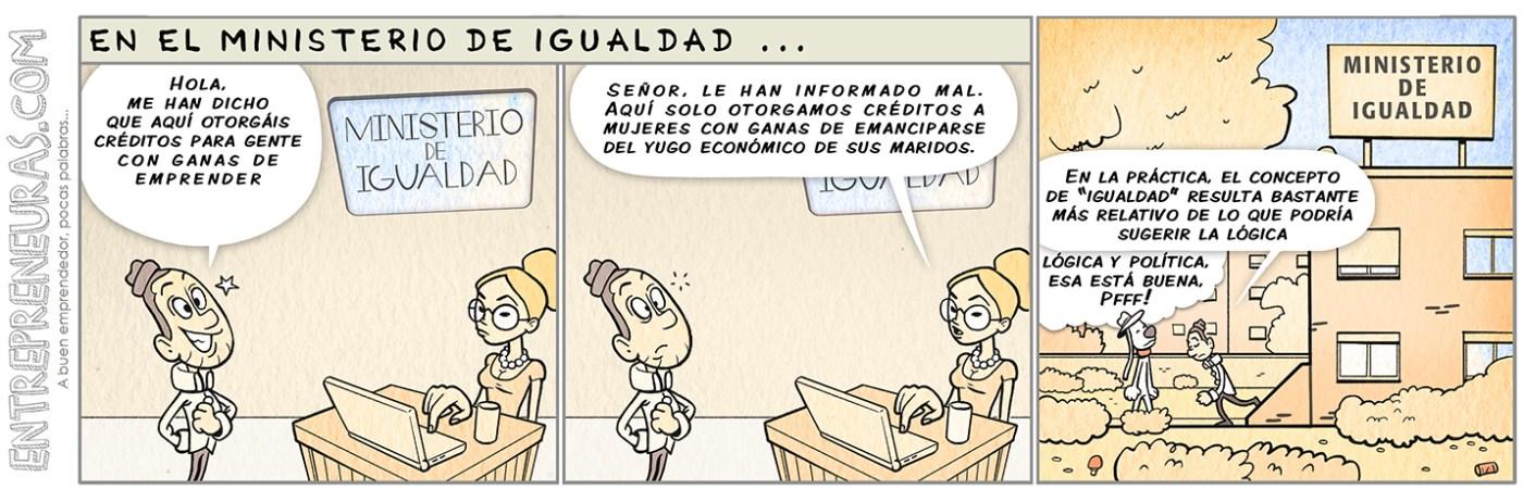 En el Ministerio de Igualdad - Entrepreneuras.com