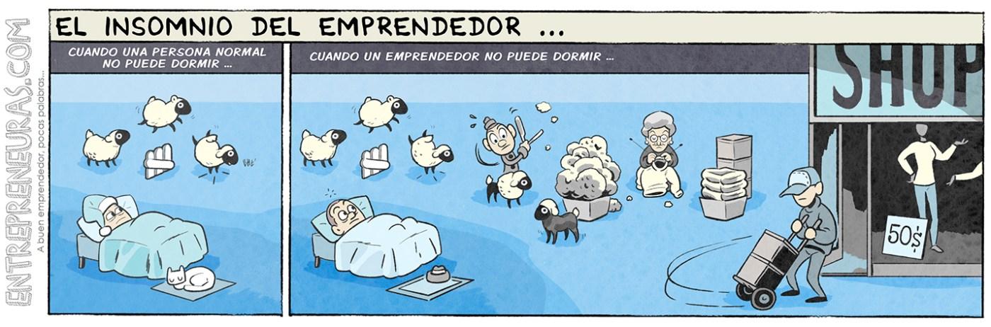 El insomnio del emprendedor - Entrepreneuras.com