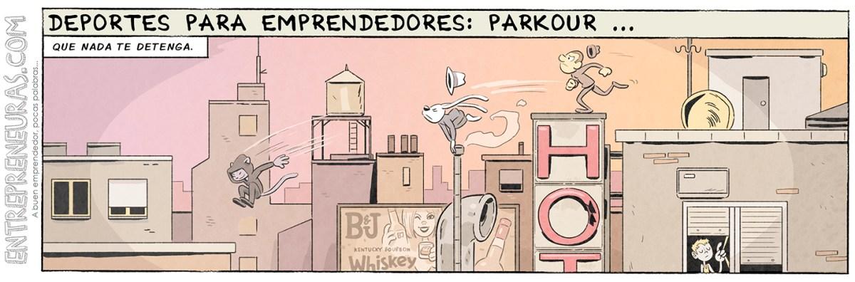 Parkour (deportes para emprendedores) - Entrepreneuras.com