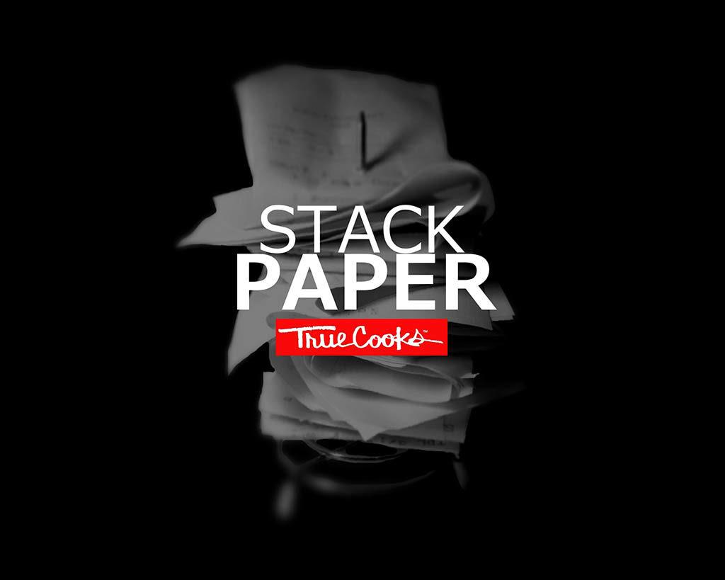 TrueCooks Stack Paper