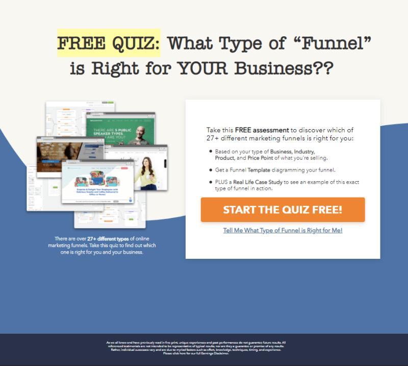 Take The Funnel Quiz