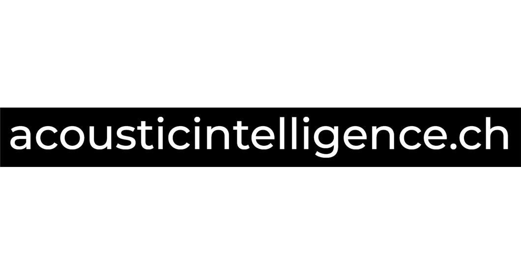 Acoustic Intelligence