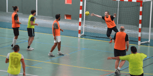 Football entre collègues