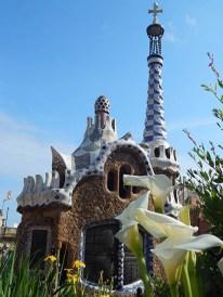 Parque Güell, creación de Antonio Gaudí.