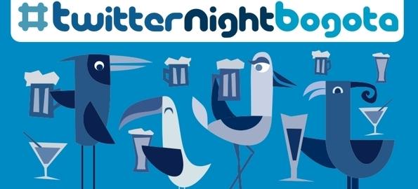 Twitter Night Bogotá
