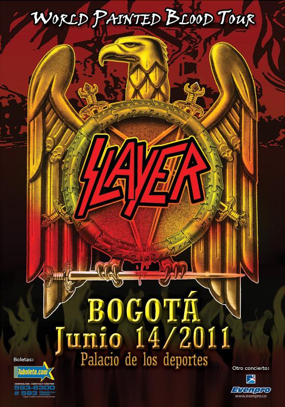 Slayer en Bogotá