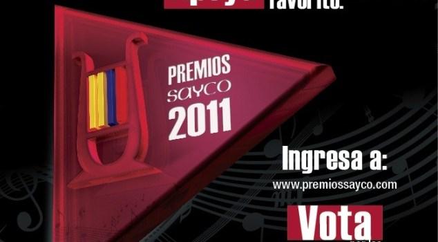 Premios Sayco 2011 - Votaciones