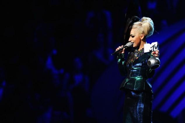 Lady Gaga. MTV EMA - European Music Awards Foto: Getty Images