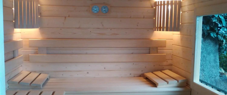 sauna massif pour particulier et pro