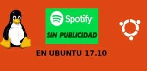 Cómo eliminar la publicidad de Spotify en Ubuntu 17.10