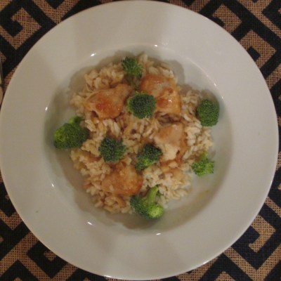 General Tso's Chicken, Rice & Broccoli