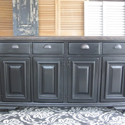 Old World Pottery Barn & Arhaus – Inspired Sideboard