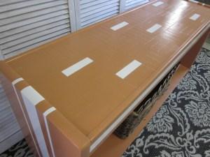 Modern Orange Table