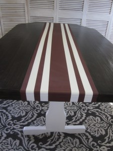Red Runner Farm Table