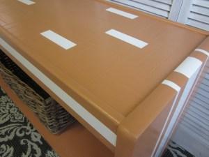orange lane table