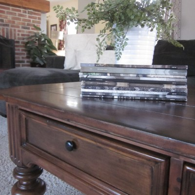 Traditional Turned-Leg Coffee Table