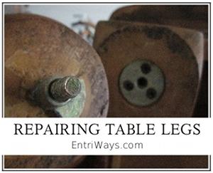Repairing Table Legs