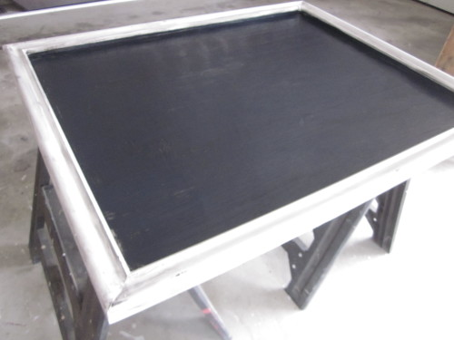 turquoise chalkboard