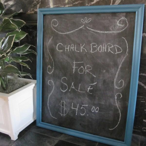 chalkboard turquoise