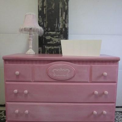 A Pink Dresser & A Test