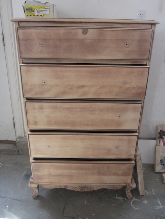 Tall Rock Maple Dresser 1