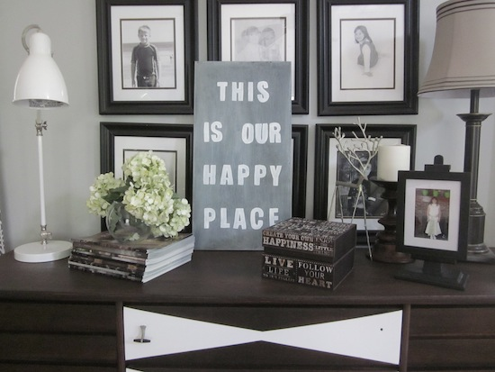 Happpy Place Sign