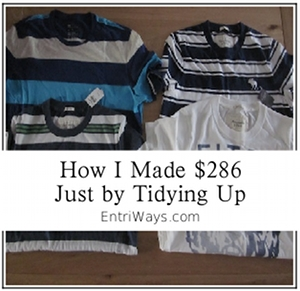 How I Made $286 This Week By Tidying Up