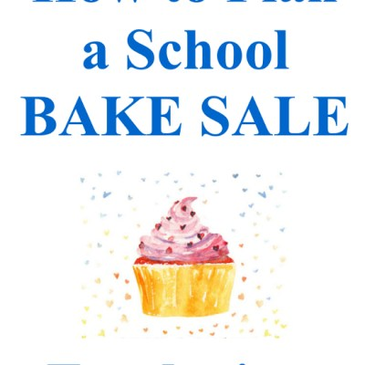 School Bake Sale Fundraiser