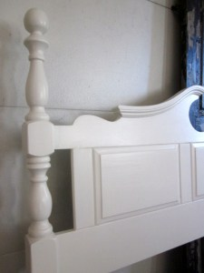 Antique White Queen-Full Headboard