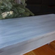 The Piano Bench:  Achieving the Perfect Blue-Gray Color Wash