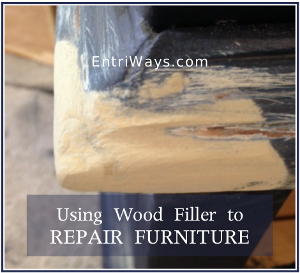 Using Wood Filler to Repair Furniture